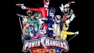 Power Rangers S.P.D Instrumental