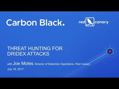 Threat Hunting for Dridex Attacks Using Carbon Black Response