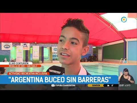 Argentina buceo sin barreras | #TPANoticias