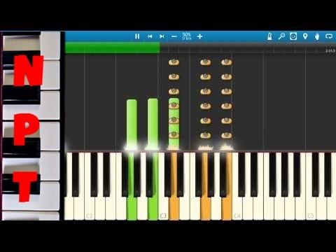 John Legend & Common - Glory - Piano Tutorial - Selma Soundtrack - Synthesia