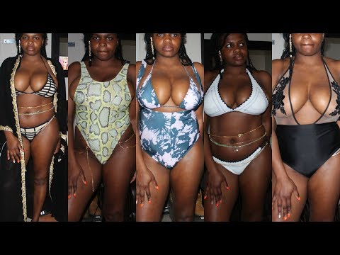 LAST SWIMWEAR/BIKINI TRY-ON HAUL FOR 2017 ||DanTemmy