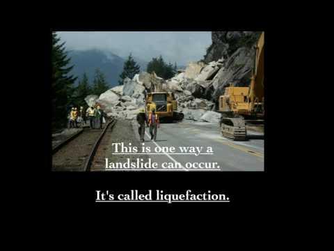 Massive Landslides Caught