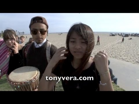 18 year old female Arrested at Venice Drum Circle 03/18/14 Claiming police brutality