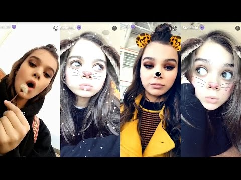 Hailee Steinfeld  Best Snapchat Moments   1