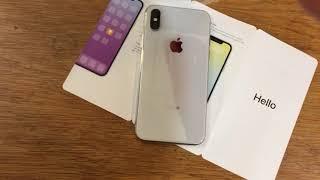 Распаковка iPhone X & AirPods