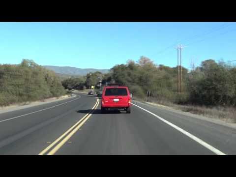 Fresno to Yosemite Timelapse along Highway 41