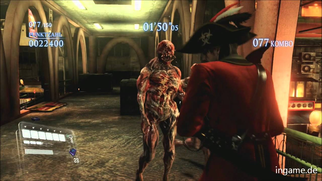 Resident Evil 6 Gameplay Mercenaries Leon Pirate Costume Hd