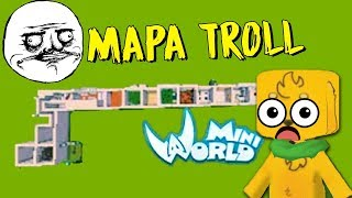 MAPA TROLL: NADIE PENSÓ QUE SERÍA TAN DIFÍCIL  😰 MIKECRACK MINI WORLD #6 thumbnail