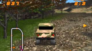 Test Drive: Off Road PS1 gameplay (HUN)