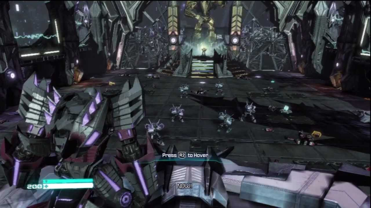 megatron gameplay hd transformers fall of cybertron youtube