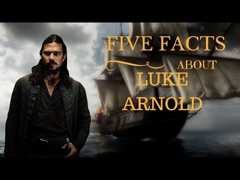 Meet the Actor: Luke Arnold John Silver from Black Sails