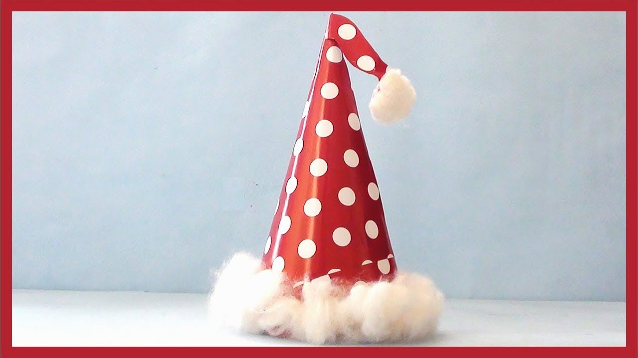 Diy Birthday Party Hat How To Make Paper Hat Tutorial Youtube