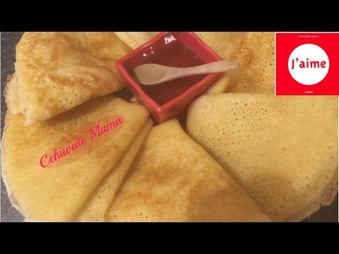 بغرير-سريع-التحضير-وناجح-100%-✔-baghrir-léger,facile-et-inratable-crêpes-mille-trous