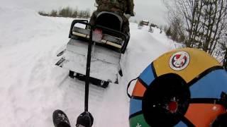 Здесь все по взрослому Снежная горкам12 февраля в Перемилово