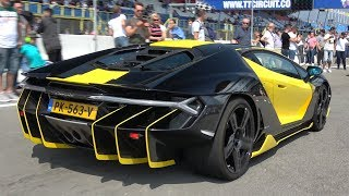 $2.5 Million Lamborghini Centenario Exhaust Sounds!