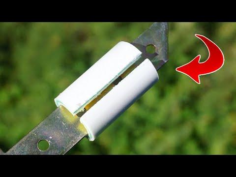 PVC Borudan Yapılan Basit Bir Alet