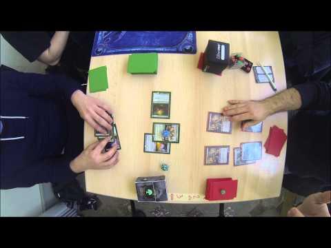 Geneva Modern 2 - Round 1 : Mono Green vs BG Rock