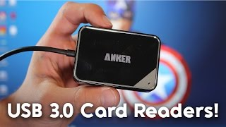 Anker USB 3 SD Card Readers Review! [CARDS READERS YOU CAN ACTUALLY TRUST!]