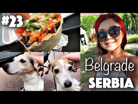 VEGAN FOOD & TOURING BELGRADE, SERBIA ♡ Rose Does Europe Vlog #23