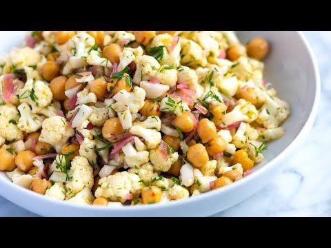 Herby Cauliflower Salad with Chickpeas
