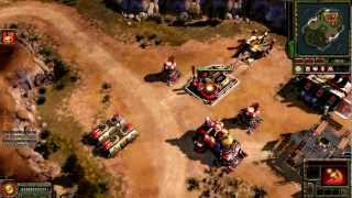 Red Alert 3 Uprising - Soviet Union Gameplay w/ Commentaries RAW#29 (Command & Conquer: Red Alert 3)