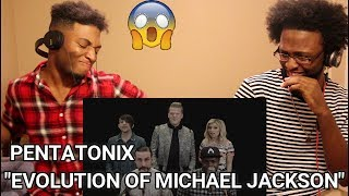 Pentatonix - Evolution of Michael Jackson (REACTION)