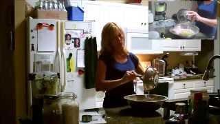 Fit Farm Chick makes double chocolate zucchini bread