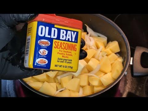 Potatoes recipes / Southern Style Potatoes and Onion