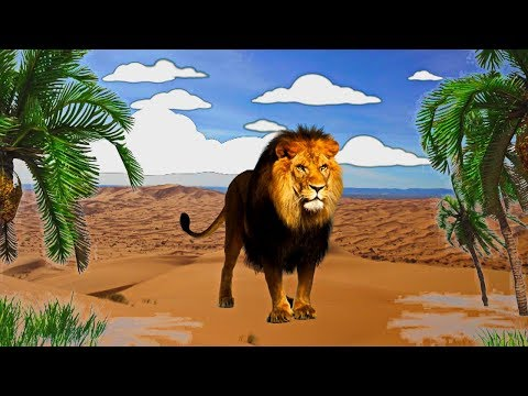 African animals for kids in pictures and their names