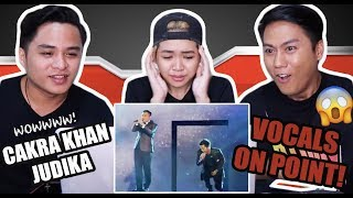 Download lagu Cakra Khan Featuring Judika #LIVE (Concert Nova 2017) | REACTION