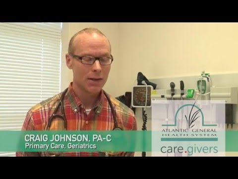 Meet Craig Johnson, PA-C - Atlantic General Primary Care in Berlin