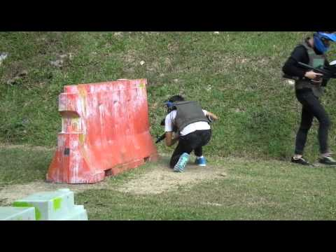 Crossfire Paintball - GG Blue