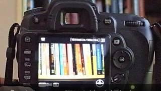 نيكون D90 وضع الفيلم - أساسيات