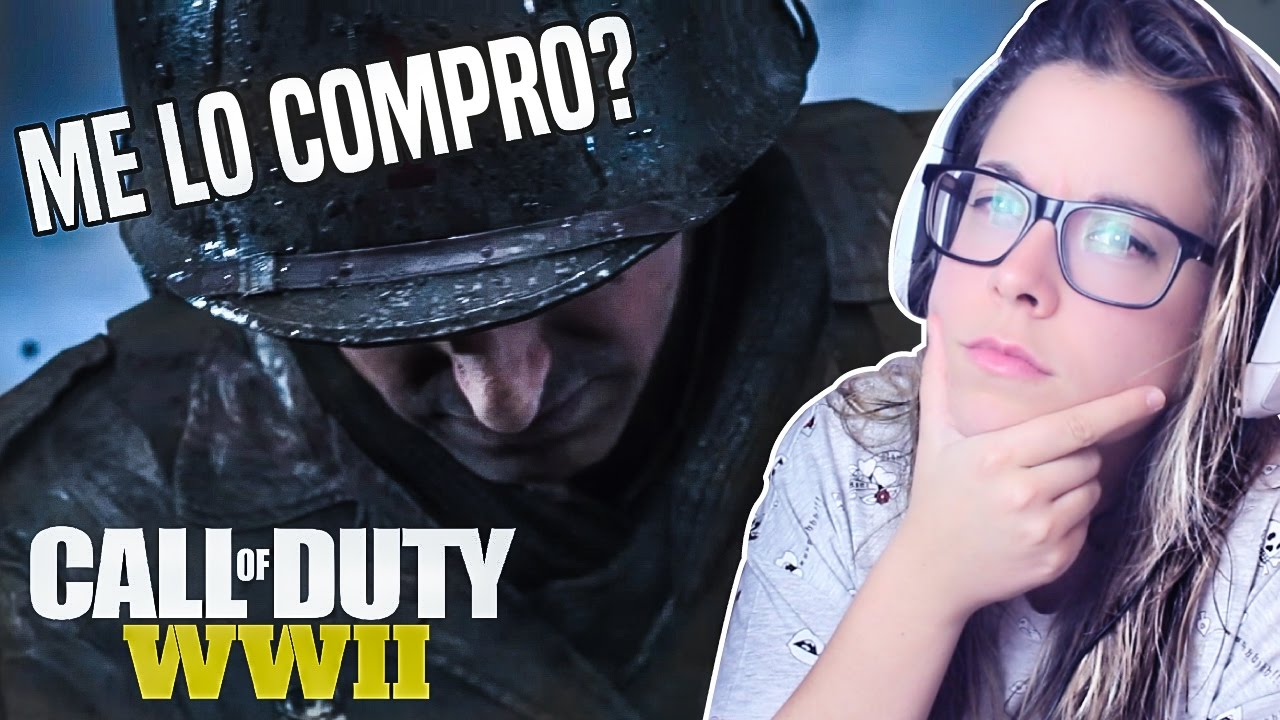 MISSANDIE FTW - REACCIONANDO A CALL OF DUTY: WWII REVEAL TRAILER