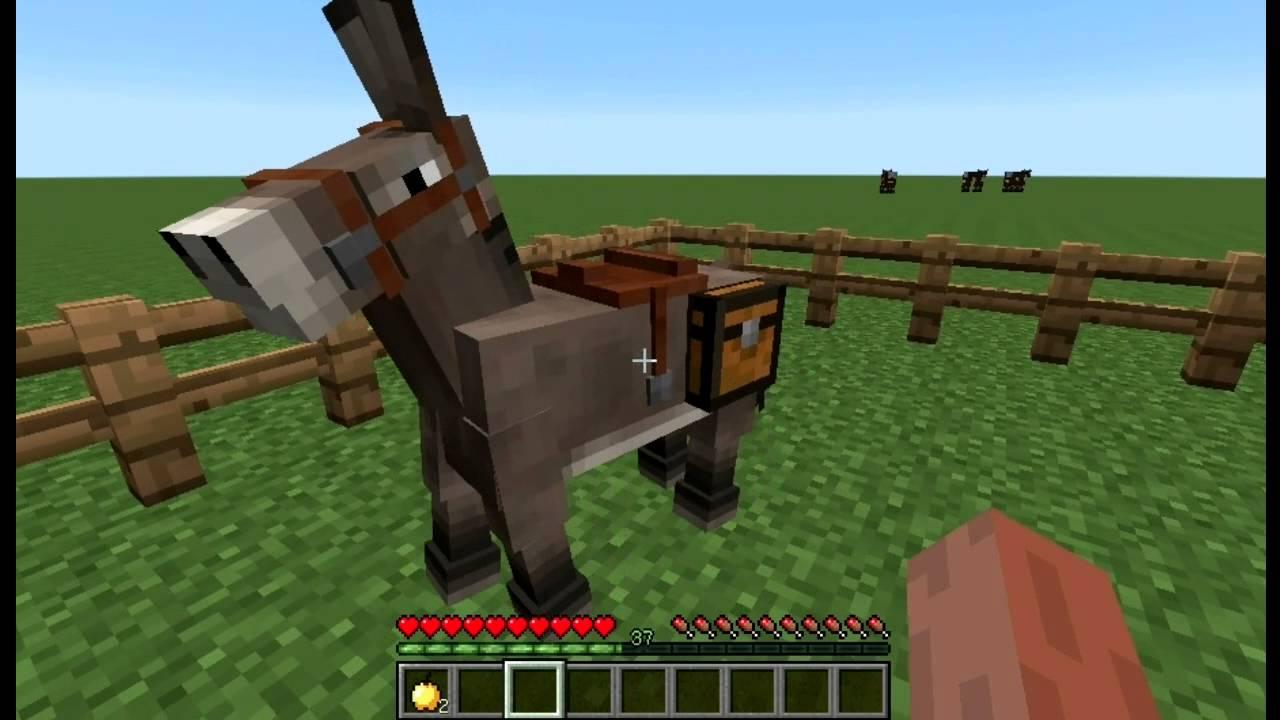 как найти седло на лошадь в майнкрафте креатив #2