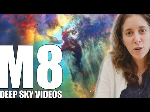 The Lagoon Nebula and Space Tornadoes (M8) – Deep Sky Videos