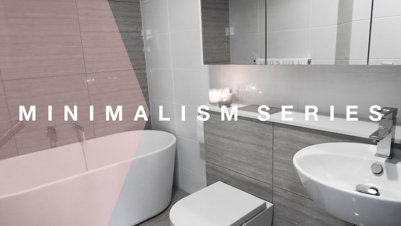 Tips For Keeping Your Bathroom Neat All The Time Minimalism Series Rachel Aust Youtube