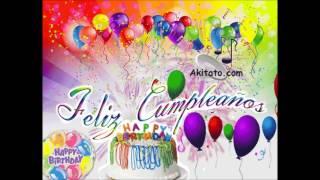 cumpleaños feliz  ( tambor urbano ) Akitato.com