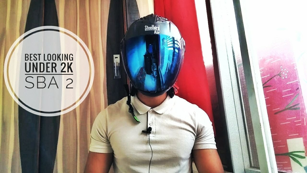 5a6a071d STEELBIRD SBA 2 REVIEW AND UNBOXING  GOOD AND BAD   BEST LOOKING HELMET  UNDER 2K ...
