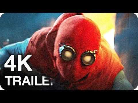 Marvels SPIDER-MAN: HOMECOMING Trailer 1-3 (2017) 4K Ultra HD