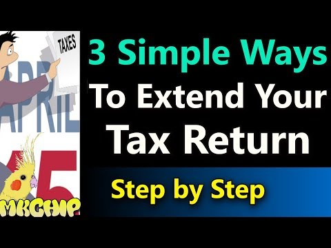 How Do I Extend My Tax Return Online Or By Paper? How To File Form 4868 Online And Extension Payment