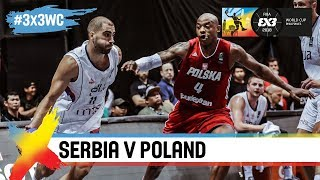 Serbia v Poland | Full Game | Semi-Final | FIBA 3×3 World Cup 2018