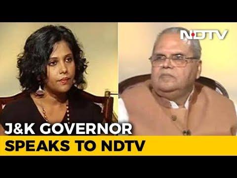 Jammu And Kashmir Local Body Polls A Success, Says Governor Satya Pal Malik