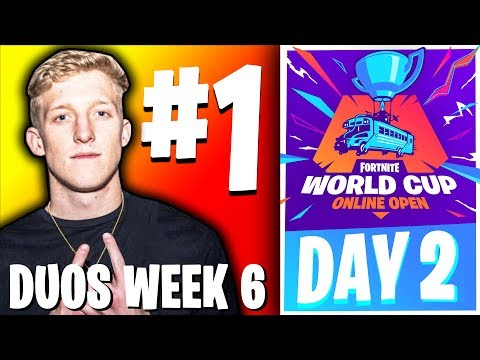 🔴LIVE: FORTNITE WORLD CUP FINALS - WEEK 6 DAY 2 (DUOS)