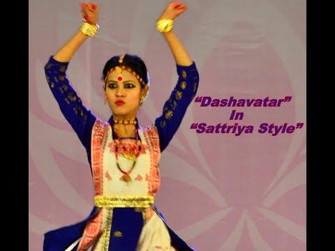 """Dashavatar"" In Sattriya Style"
