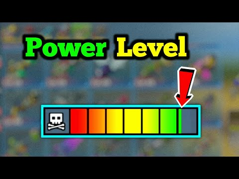 Efficiency - How Weapon Power Level Works In Pixel Gun 3D | Tutorial