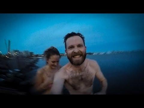 FREEZING Baltic swim and traditional Finnish sauna
