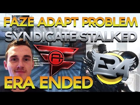 ERa Eternity Ends, FaZe Adapt Problem, Syndicate Stalked, Rain Top 5 - Red Scarce