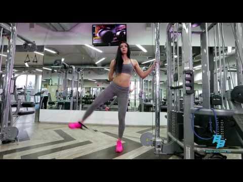Упражнения для похудения ляшек и ягодиц