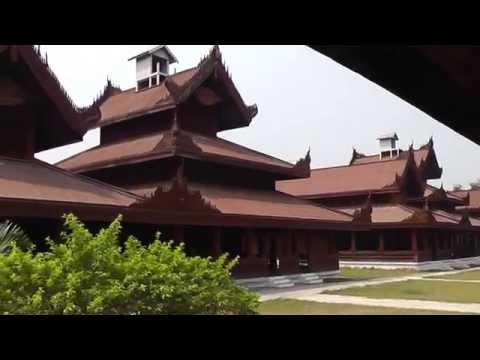 My Golden Years Travel - Mandalay Royal Palace 11 March 2013 Part 2